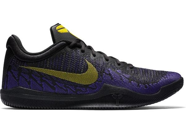 best website 52194 d083b Nike Mamba Rage Lakers Away