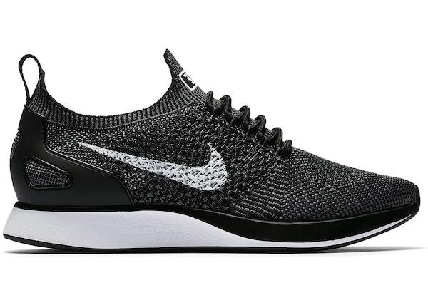 cf7f9c179205 Nike Mariah Flyknit Racer Black White (W)