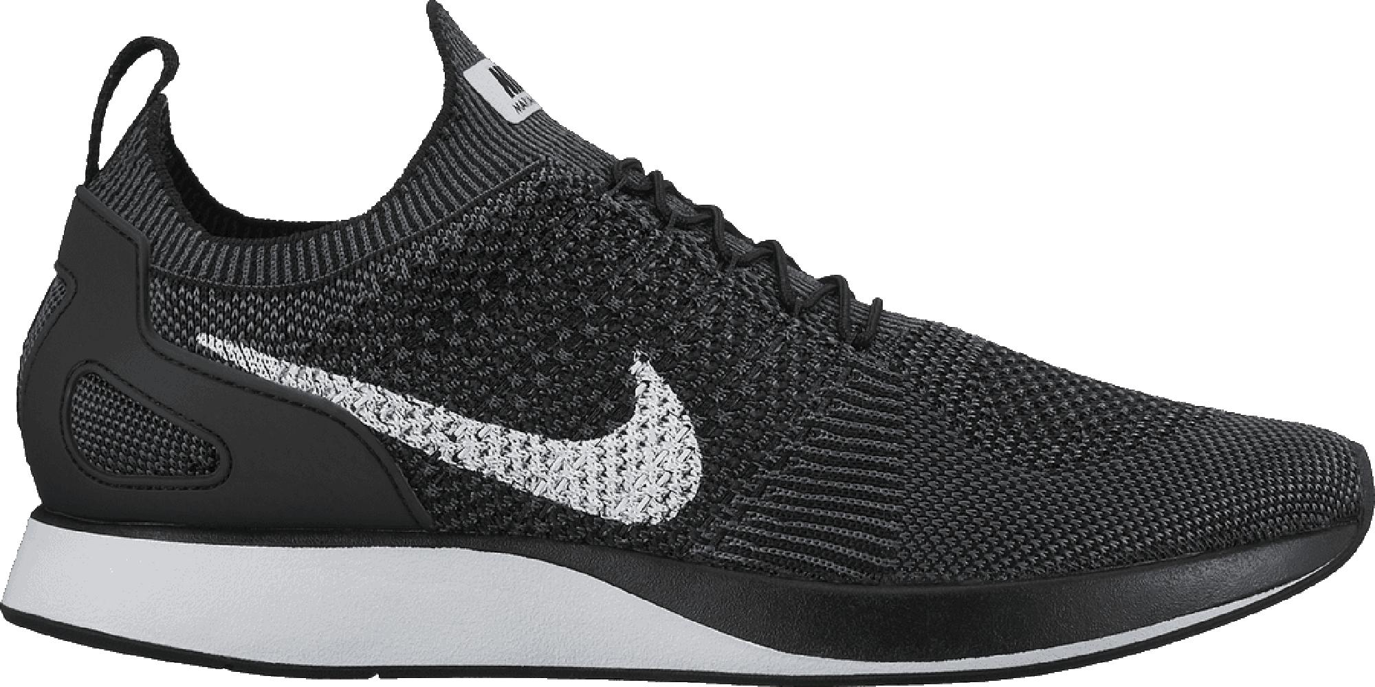 Nike Mariah Flyknit Racer Black White