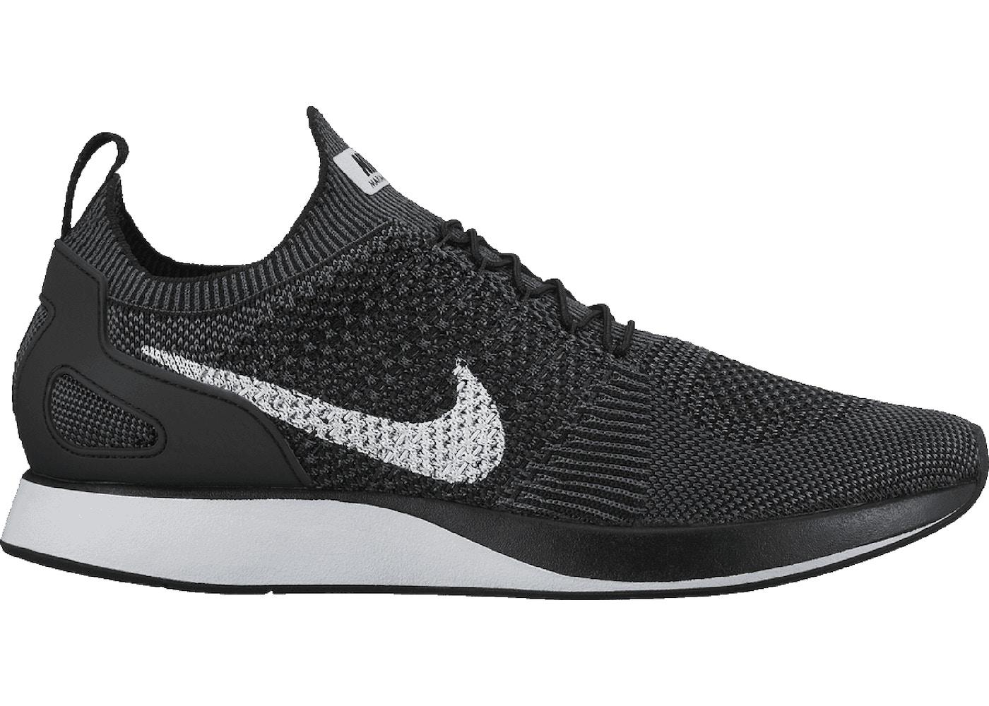 Destilar De Verdad Necesitar  Nike Mariah Flyknit Racer Black White - 918264-001