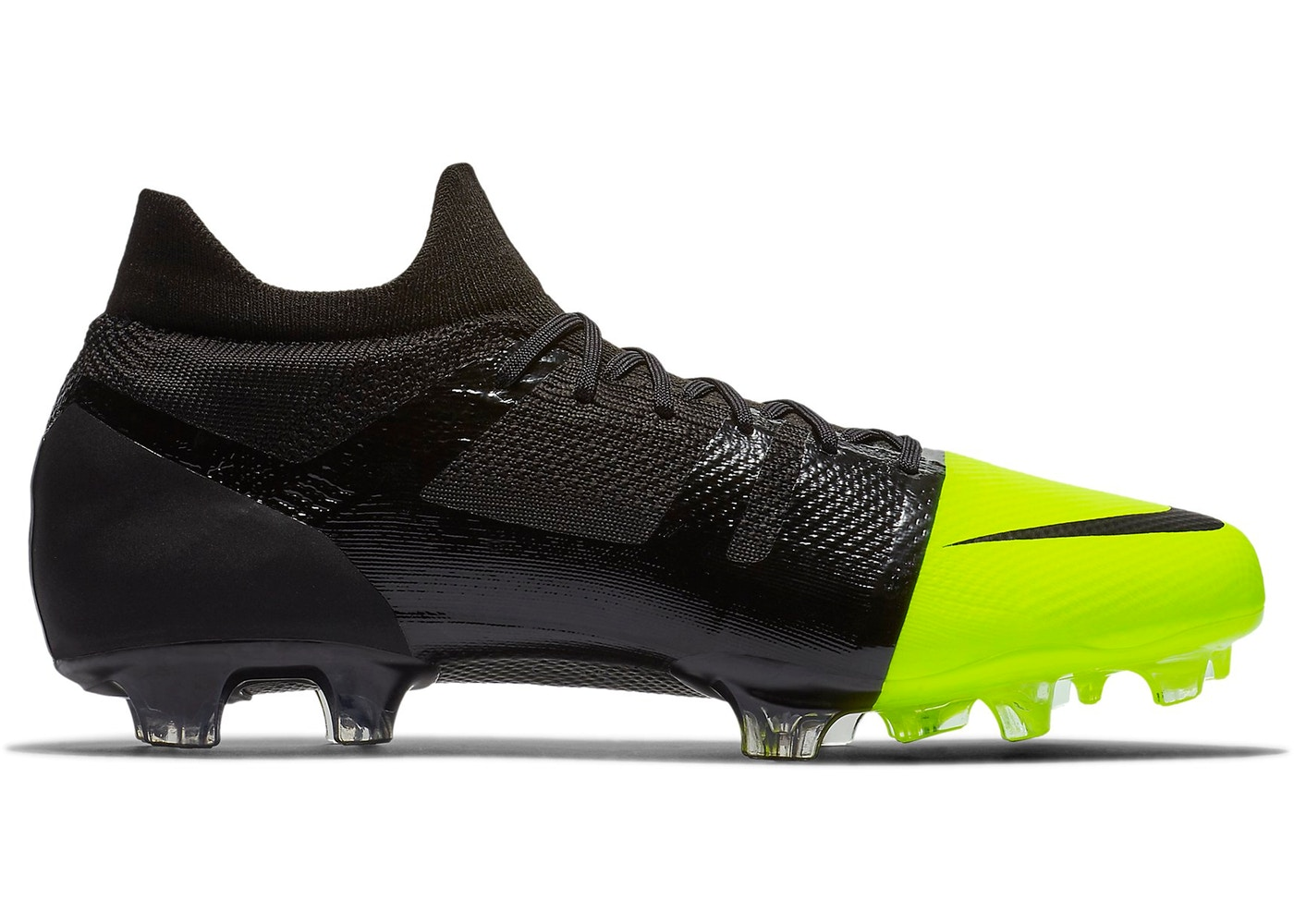 free shipping 416fd 8bd6c Nike Mercurial GS 360 FG Cleat Black Volt