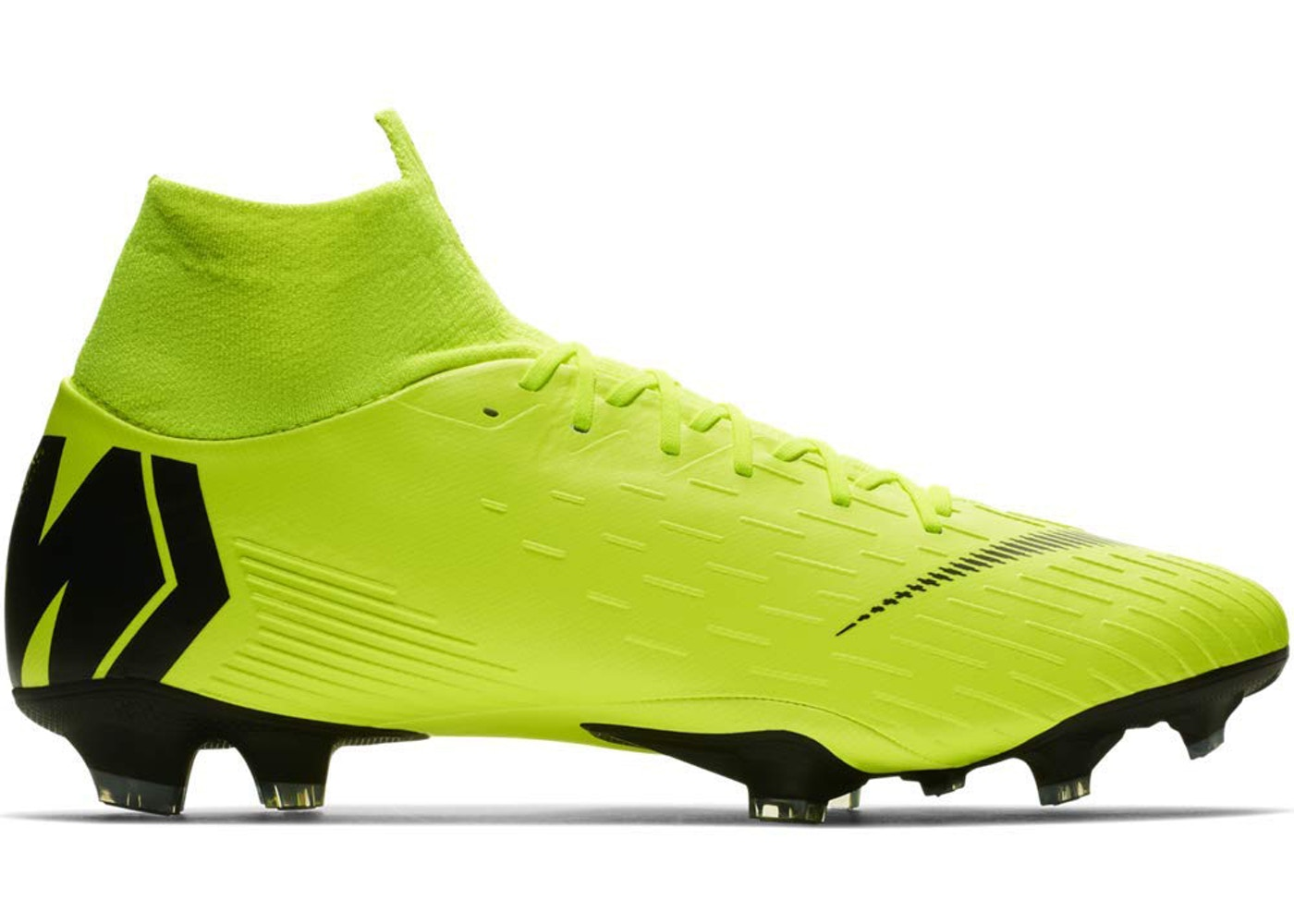 reputable site a22f5 a8c1f Nike Mercurial Superfly 6 FG Volt Black