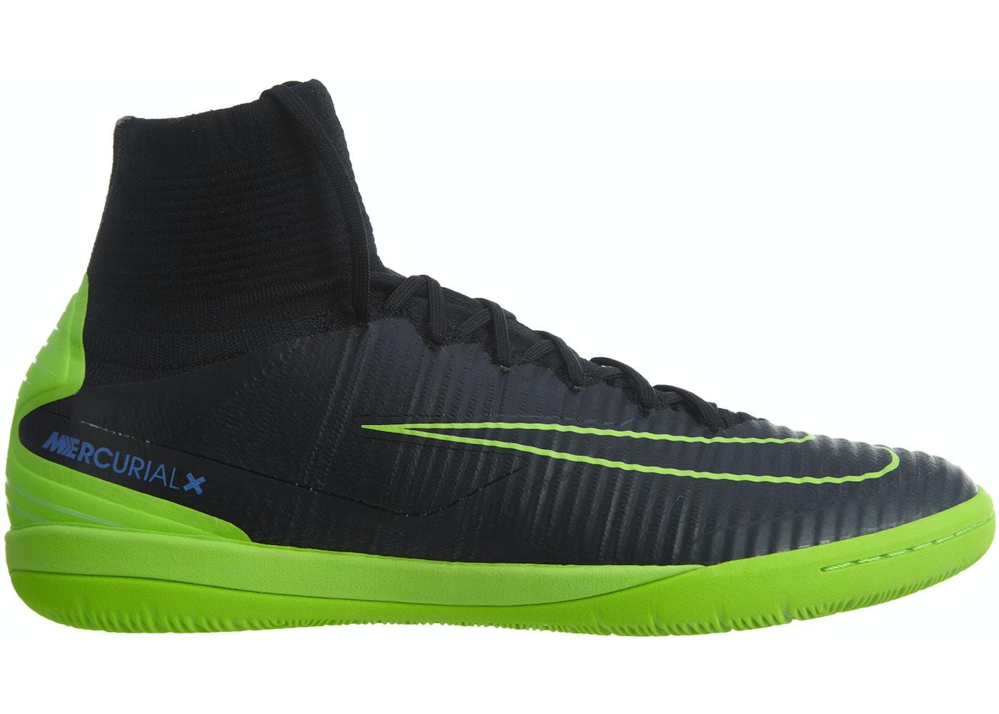 Nike MercurialX Proximo II Nike Mercurialx Proximo II Ic Black Electric Green - 831976-034