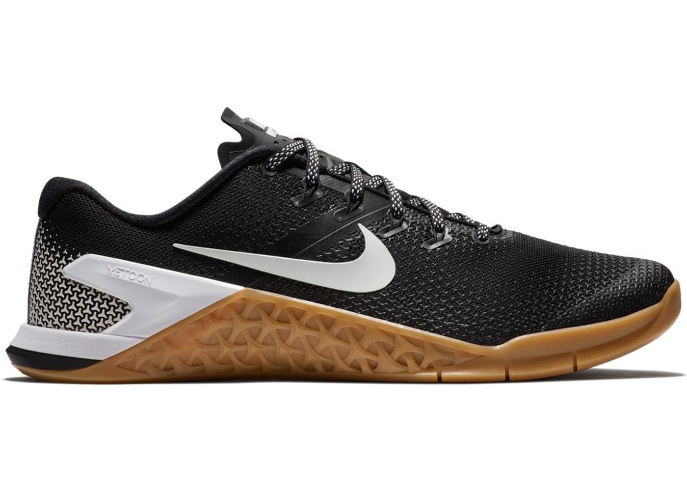 Nike Metcon 4 Black White Gum