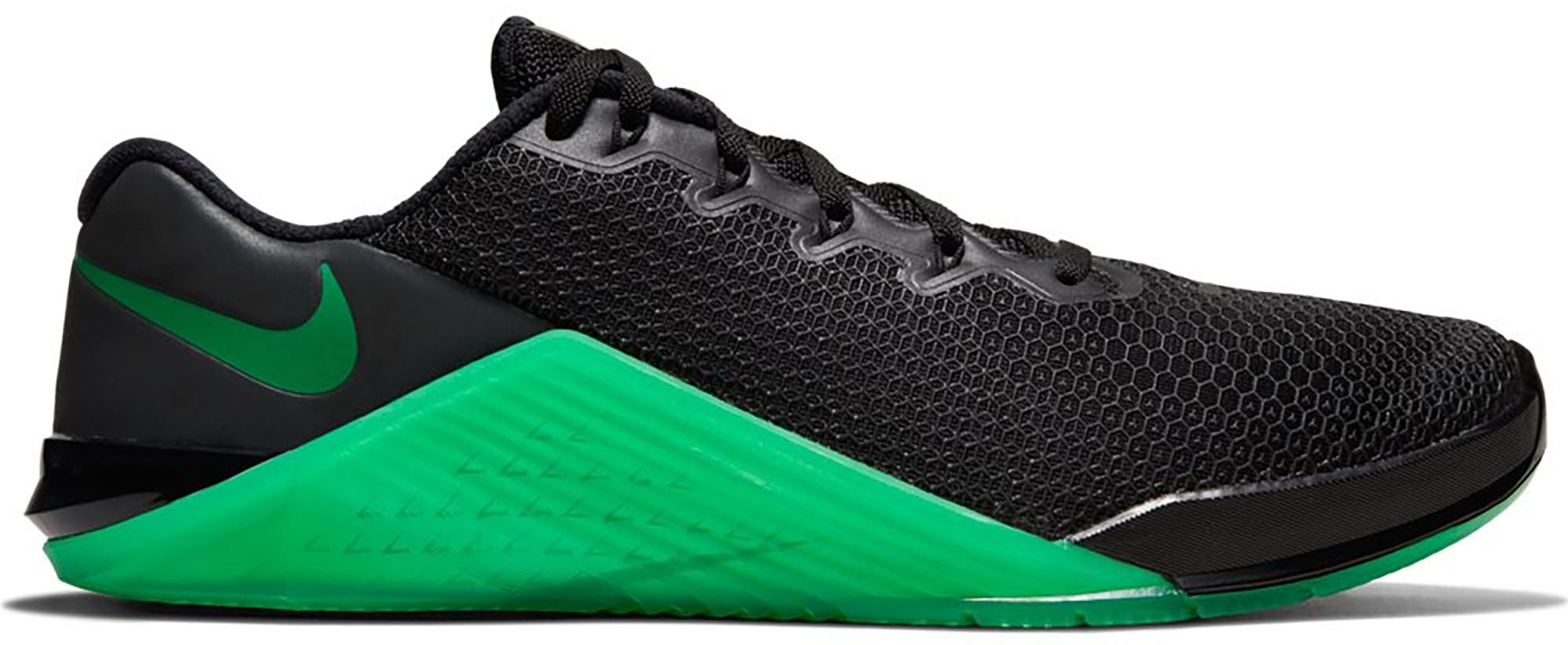 Nike Metcon 5 Black Lucky Green