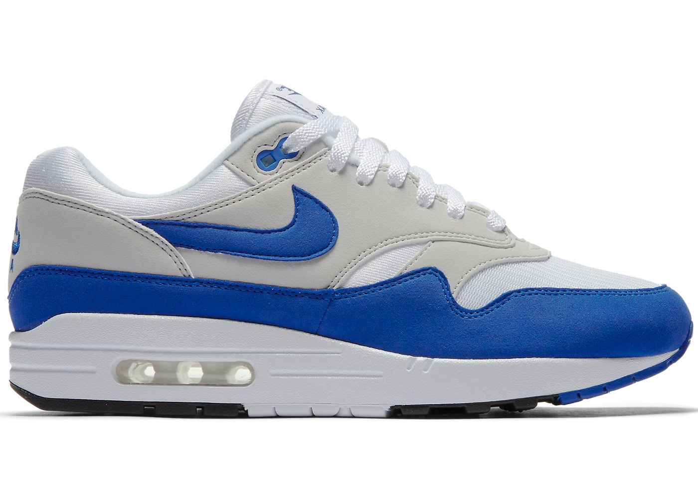 ny kollektion officiell webbplats grossist online Nike Air Max 1 Anniversary Royal (2017) - 908375-101