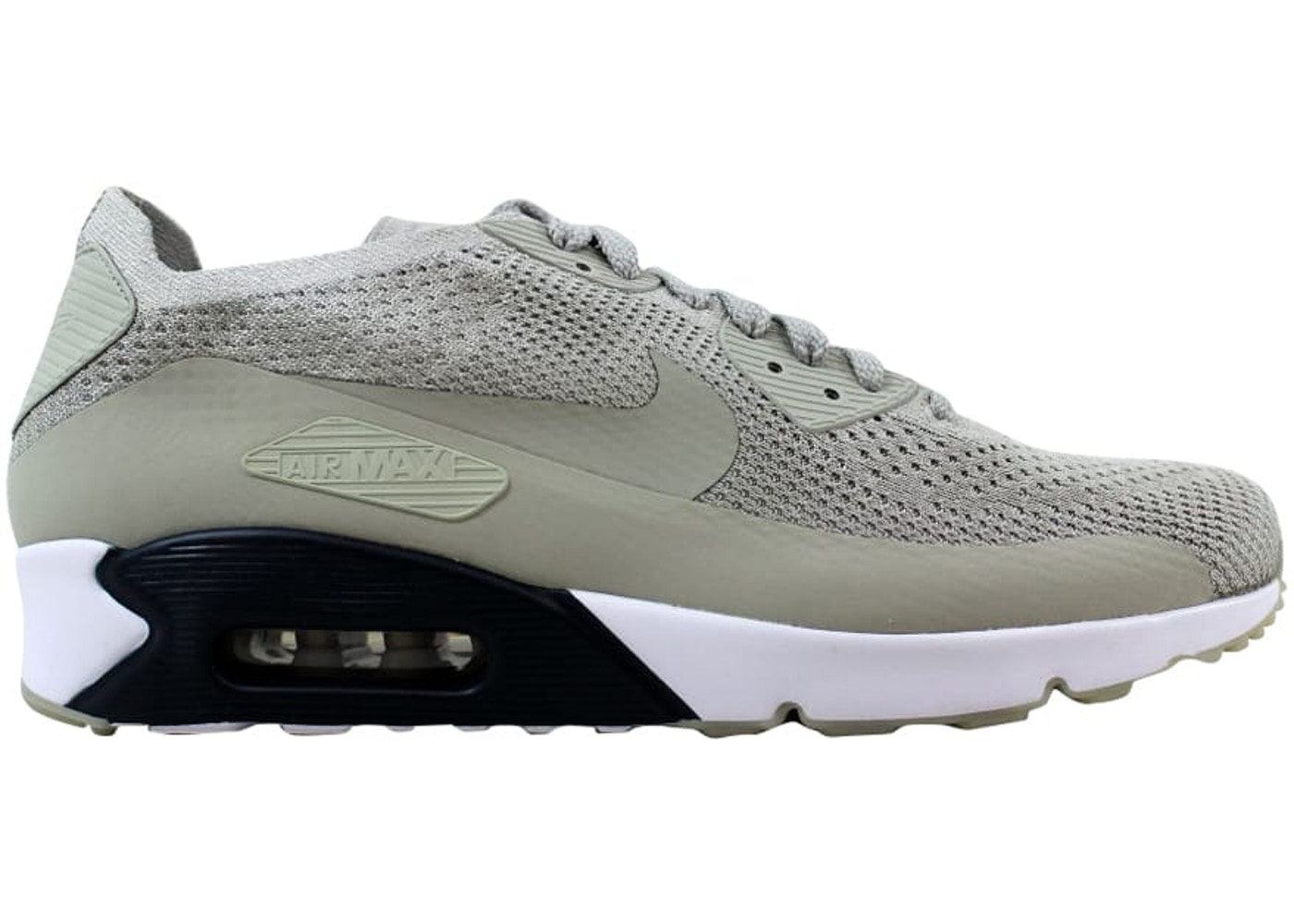 new product 445c1 d6744 Nike Air Max 90 Ultra 2.0 Flyknit Pale Grey