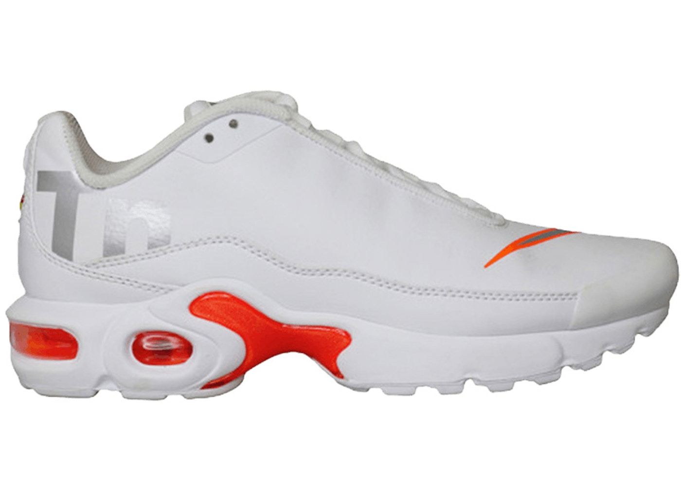 sports shoes 2ceec 9a859 Nike Air Max Plus TN SE White Silver (GS)