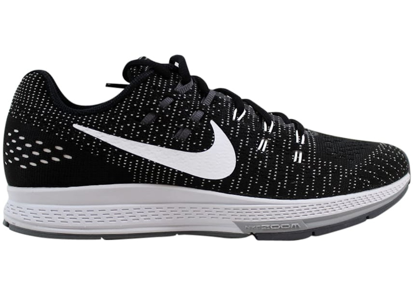 size 40 59753 94518 Nike Air Zoom Structure 19 Black - 806580-001