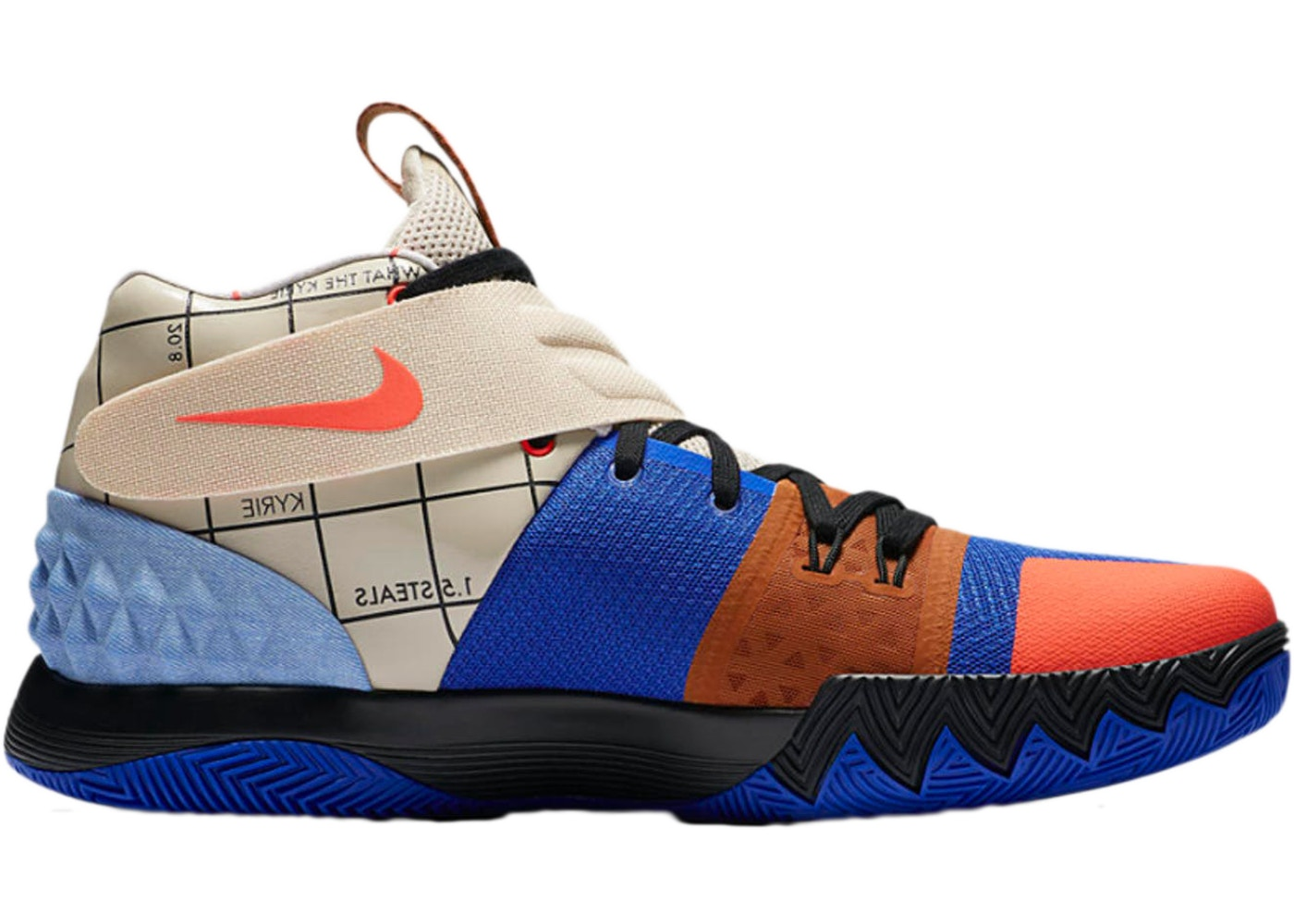 save off 55c6d e1eae Nike Kyrie S1 Hybrid What The (Multicolor)
