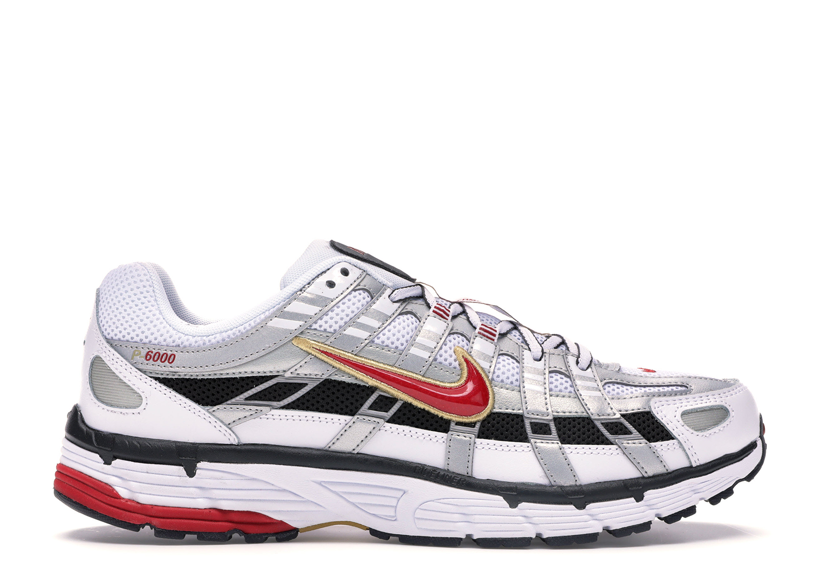 Nike P-6000 White Gold Red (W)