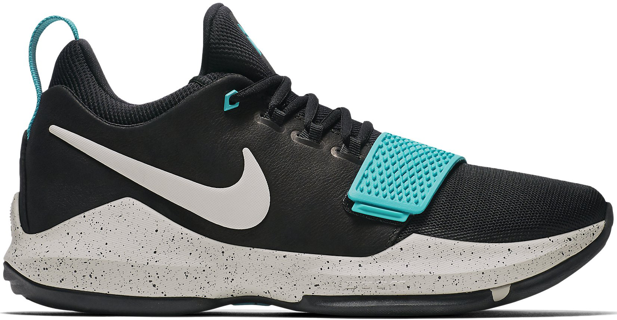 Nike PG 1 Black Aqua