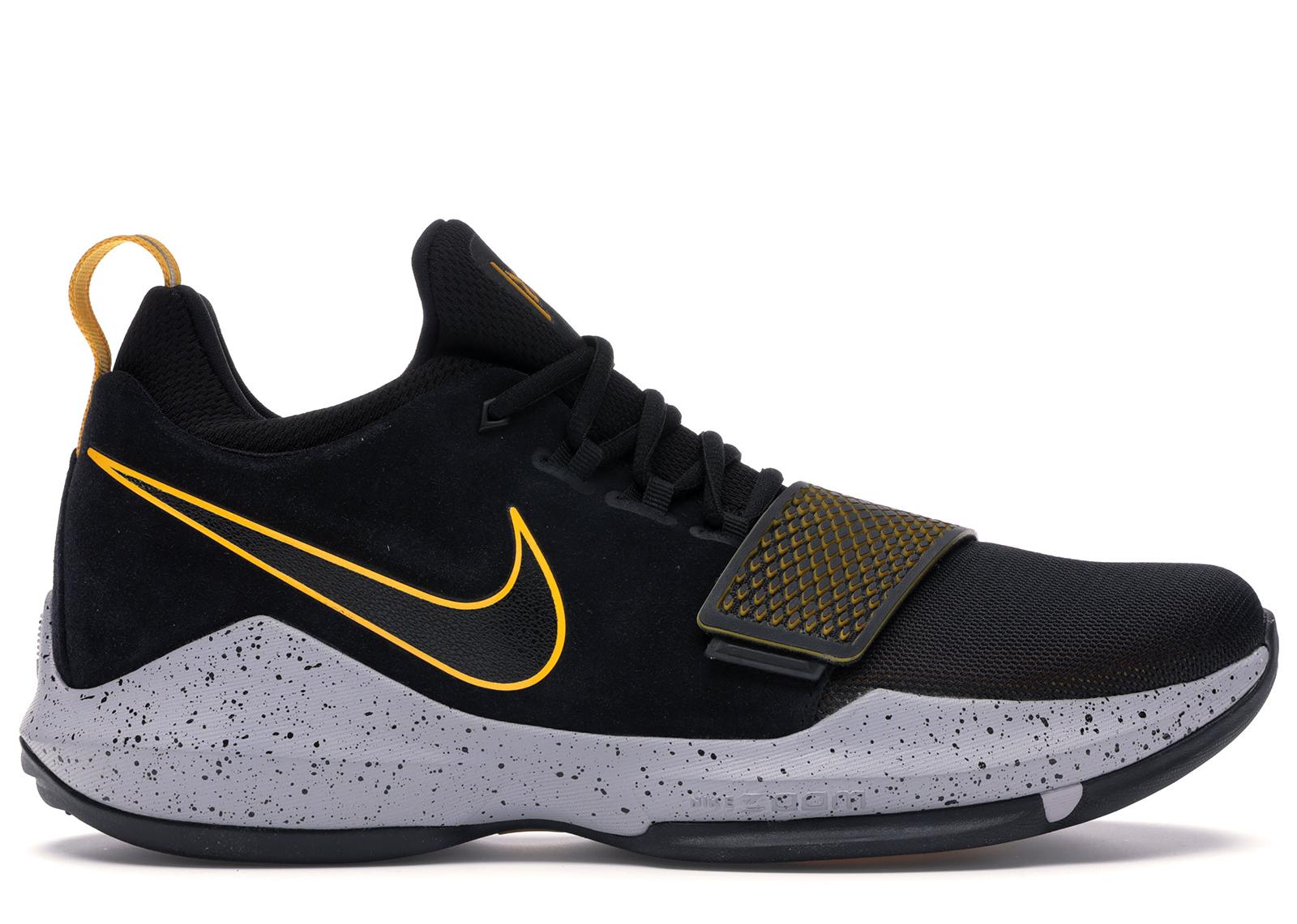 Nike PG1 878627-006 Black//University Gold New Men/'s