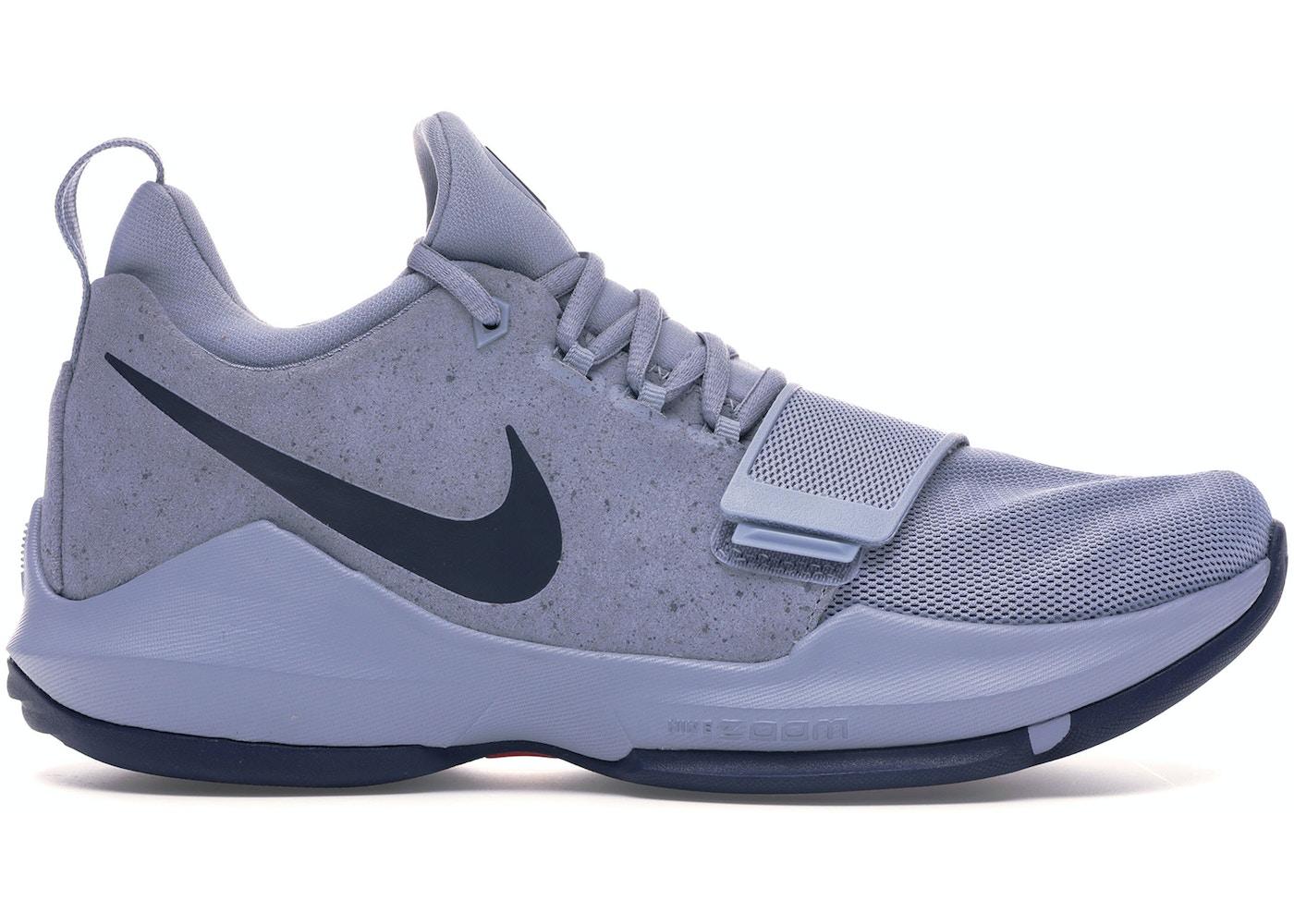 separation shoes e3a0a 1961a Nike PG 1 Glacier Grey