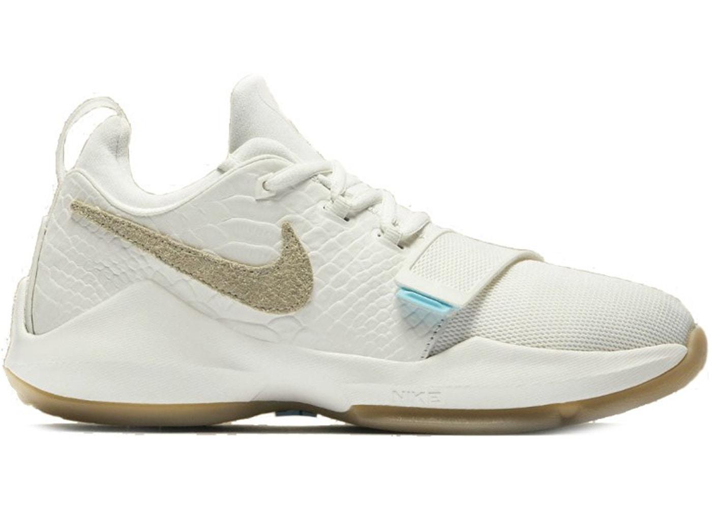 sale retailer 99ef6 034c5 Nike PG 1 Ivory