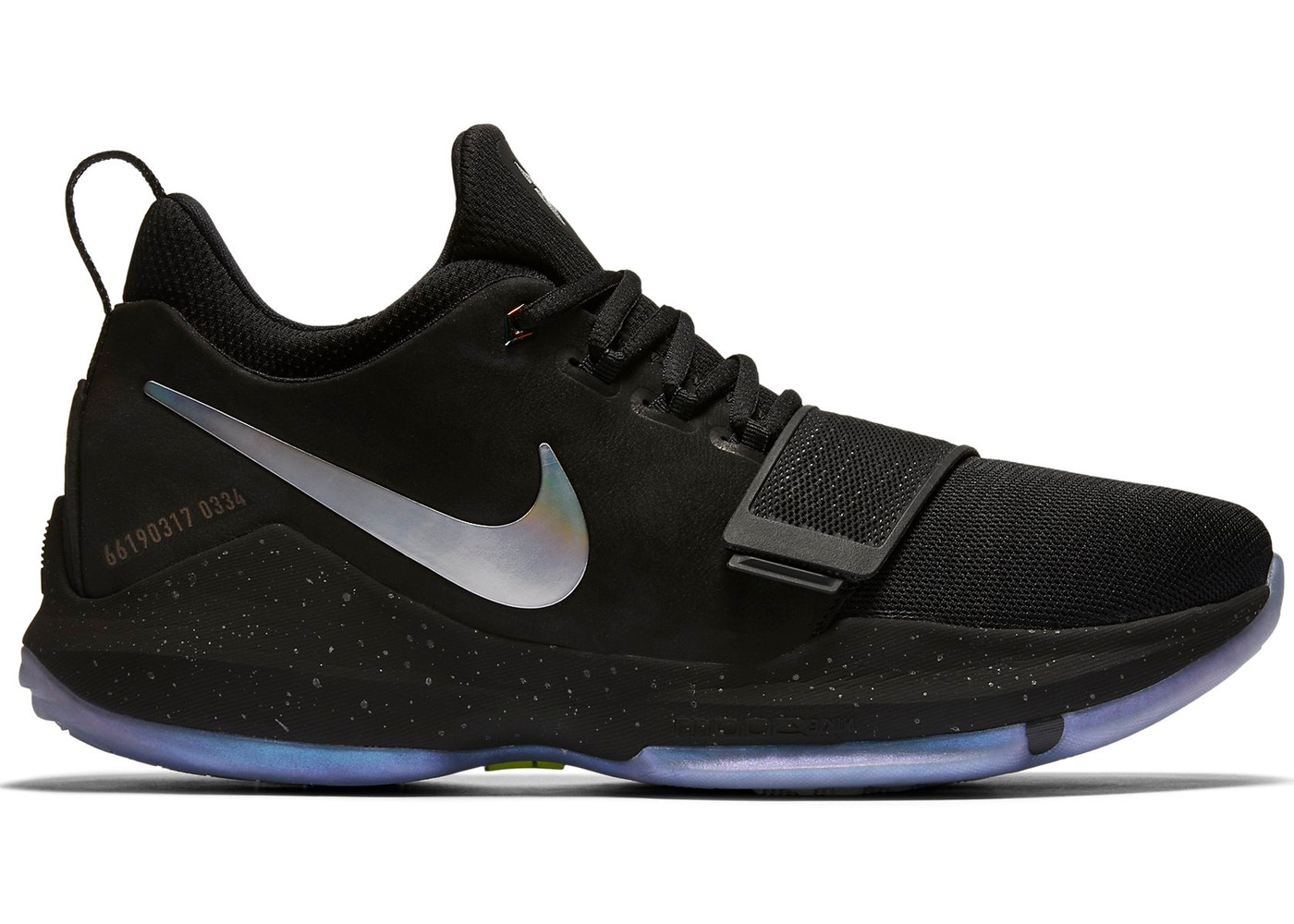 super popular 84a52 a4190 Nike PG 1 Shining