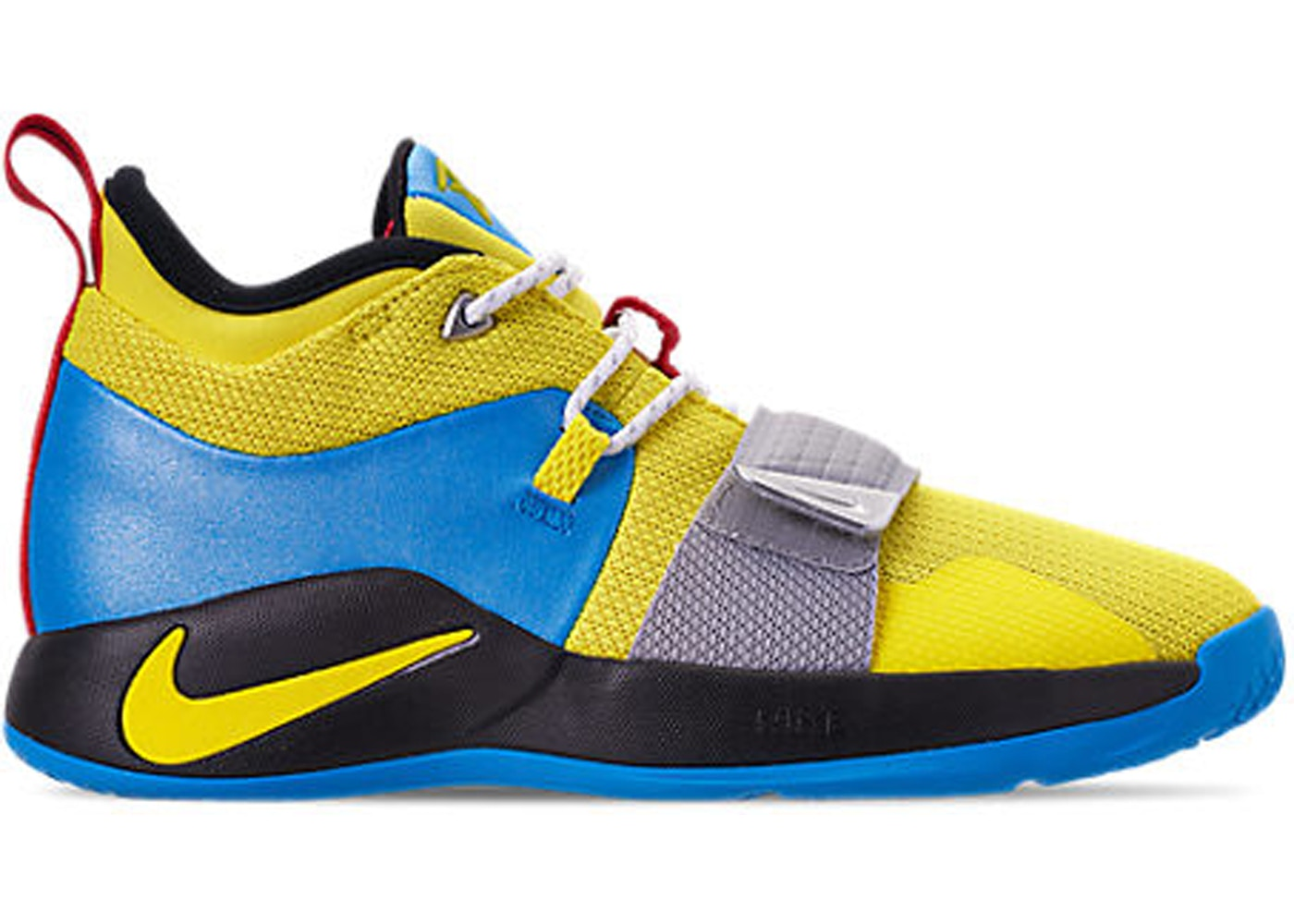 hot sales 8dc8a 20729 Nike PG 2.5 Opti Yellow Blue Hero (GS)