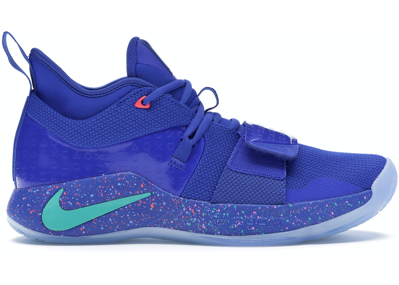 new styles f8bb7 07b04 Nike PG 2.5 Playstation Multi-Color
