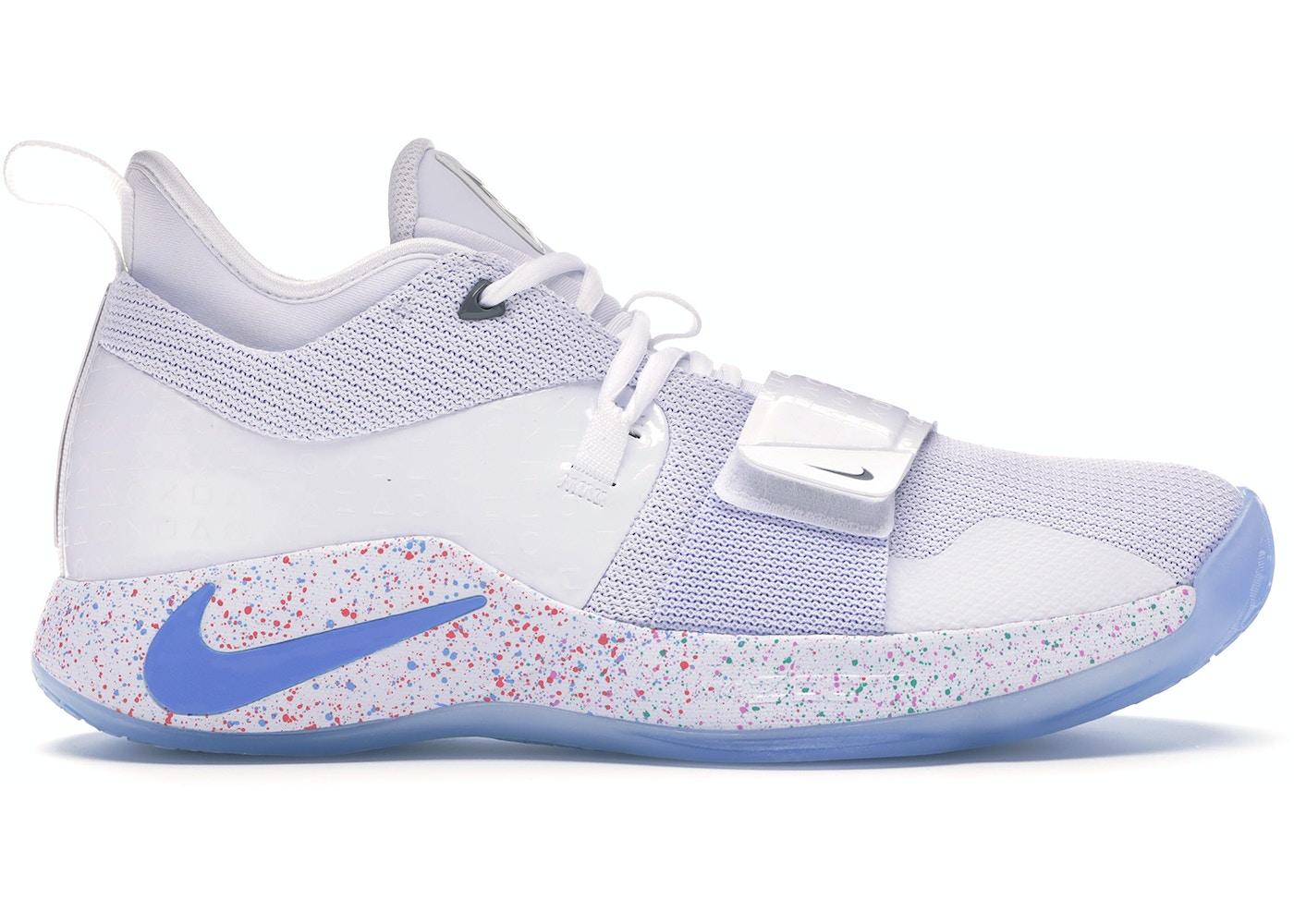 quality design fa026 12738 Nike PG 2.5 Playstation White