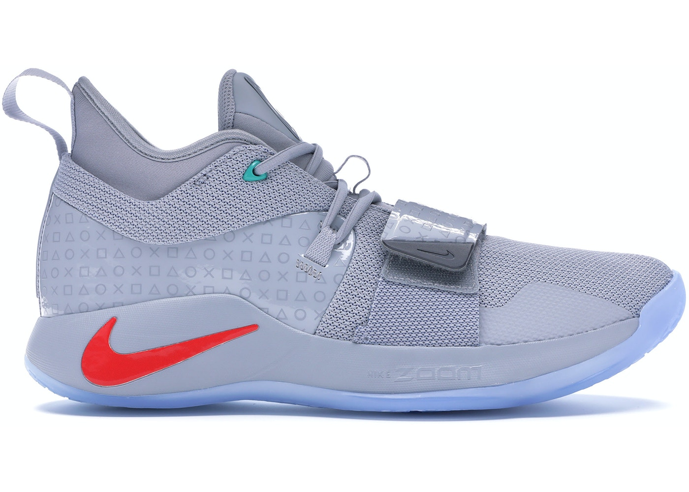 buy online 4a044 6a4bc Nike PG 2.5 Playstation Wolf Grey