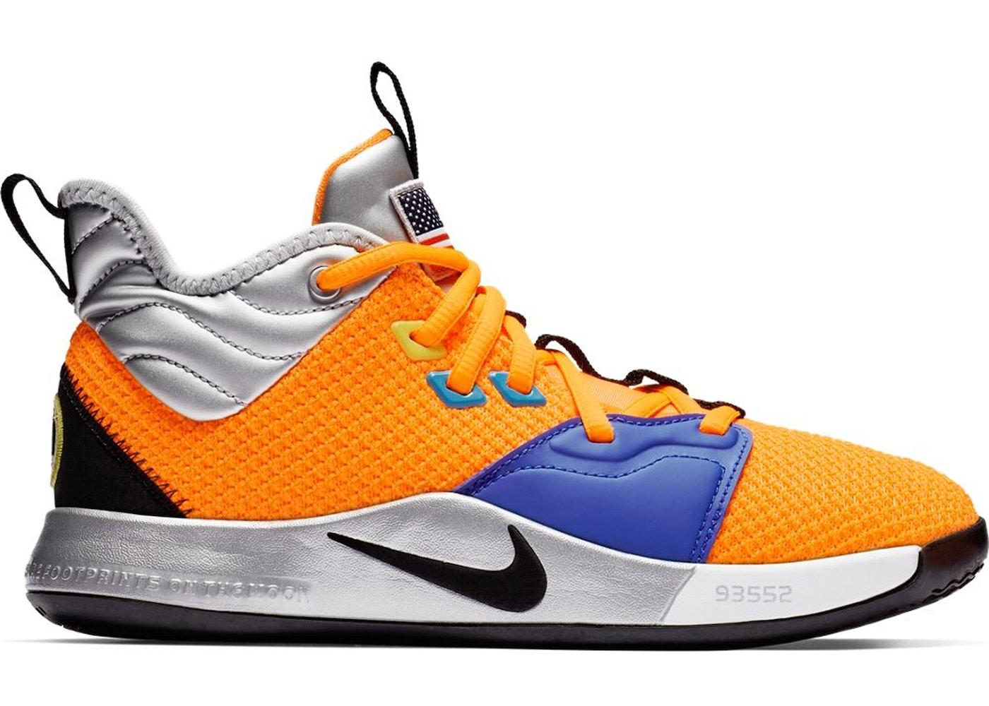 65bfad39e8651 HypeAnalyzer · Nike PG 3 NASA (GS)