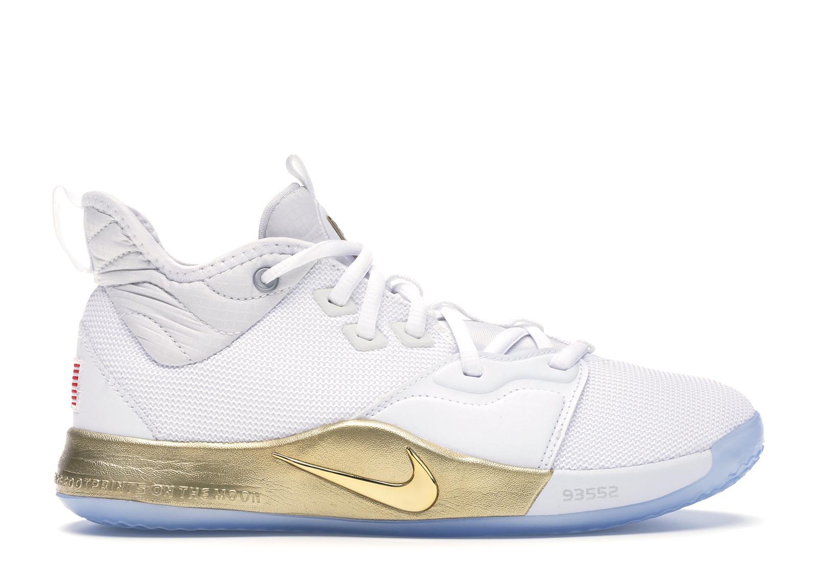 Nike PG 3 NASA White (GS) - CI8973-100