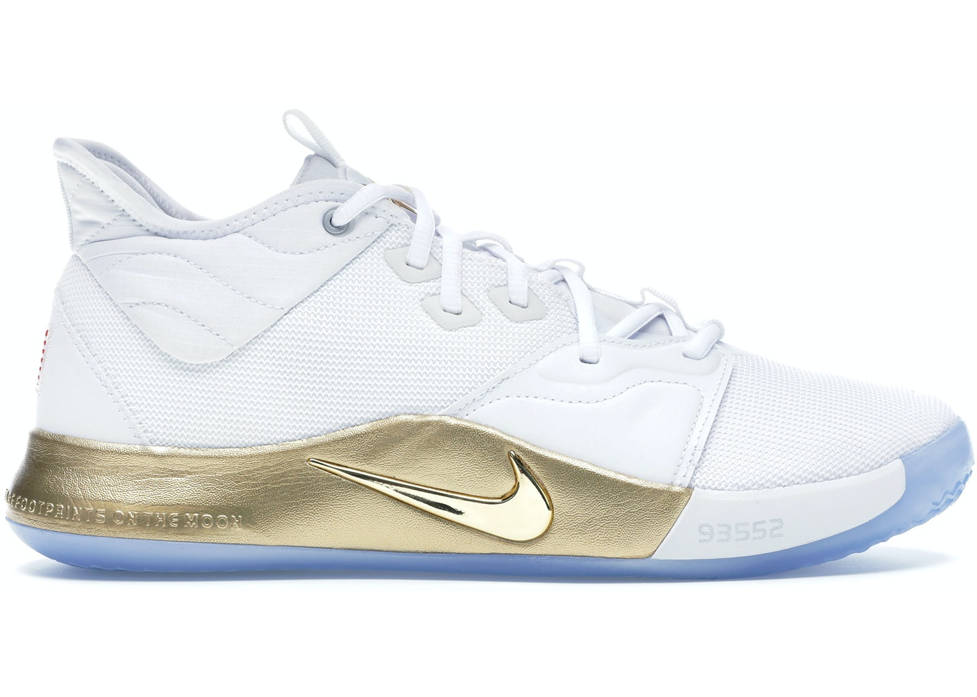 ultima selezione del 2019 scarpe autunnali scarpe classiche Nike PG 3 NASA White - CI2666-100/CI2667-100
