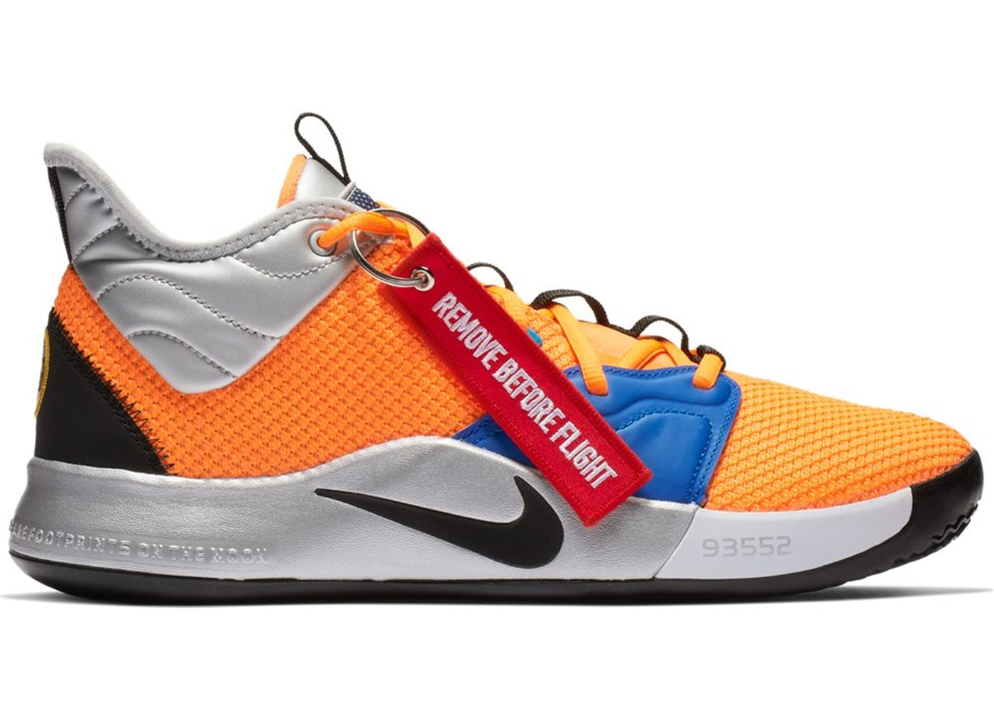 info for 77f70 26edb Nike PG 3 NASA - CI2666-800