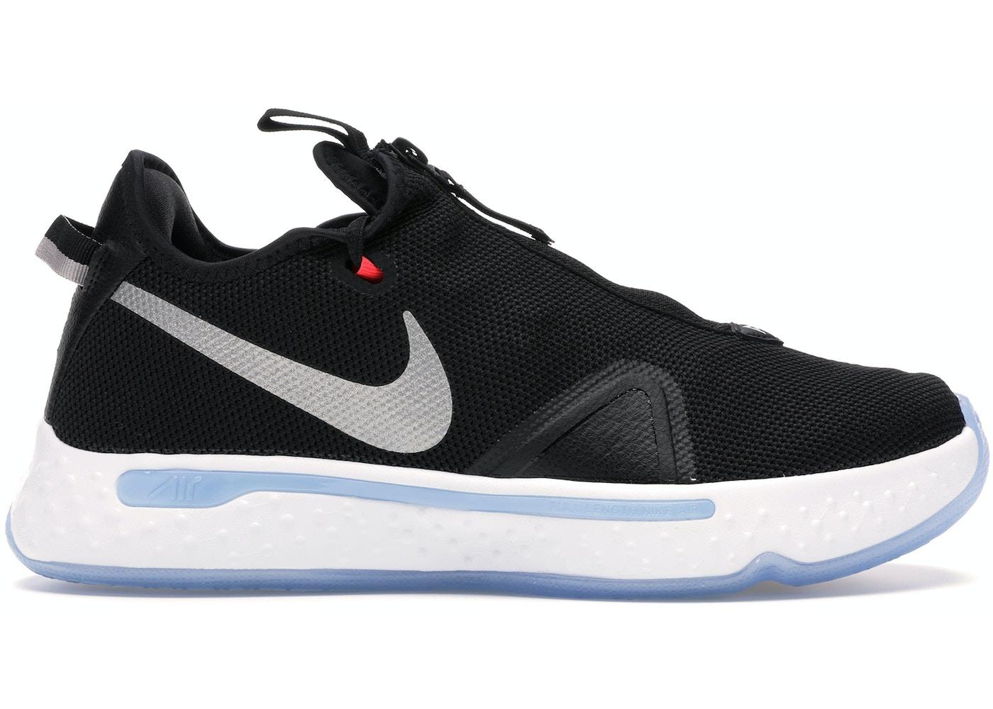Nike PG 4 Black Light Smoke Grey - CD5082-001/CD5079-001