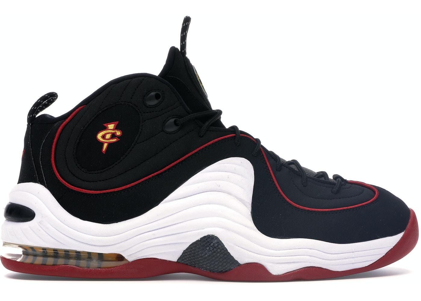super popular ccee5 769e5 Nike Air Penny II Miami Heat - 333886-002