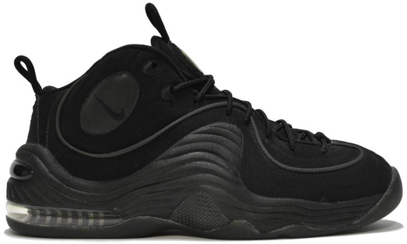Nike Air Penny II Triple Black - 333886-001