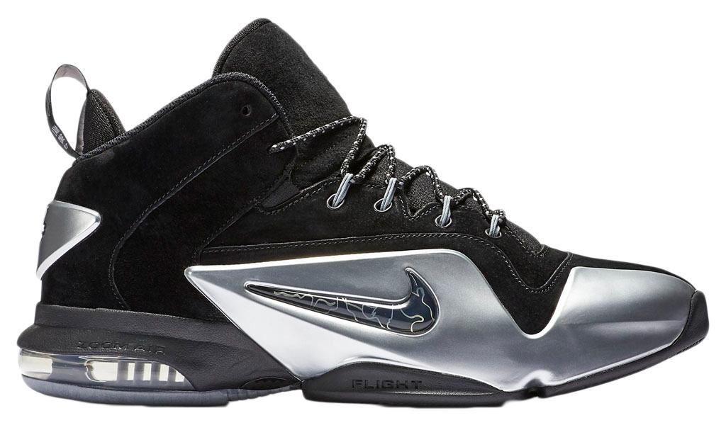 Nike Zoom Penny Vi Premium Black / Metallic Silver