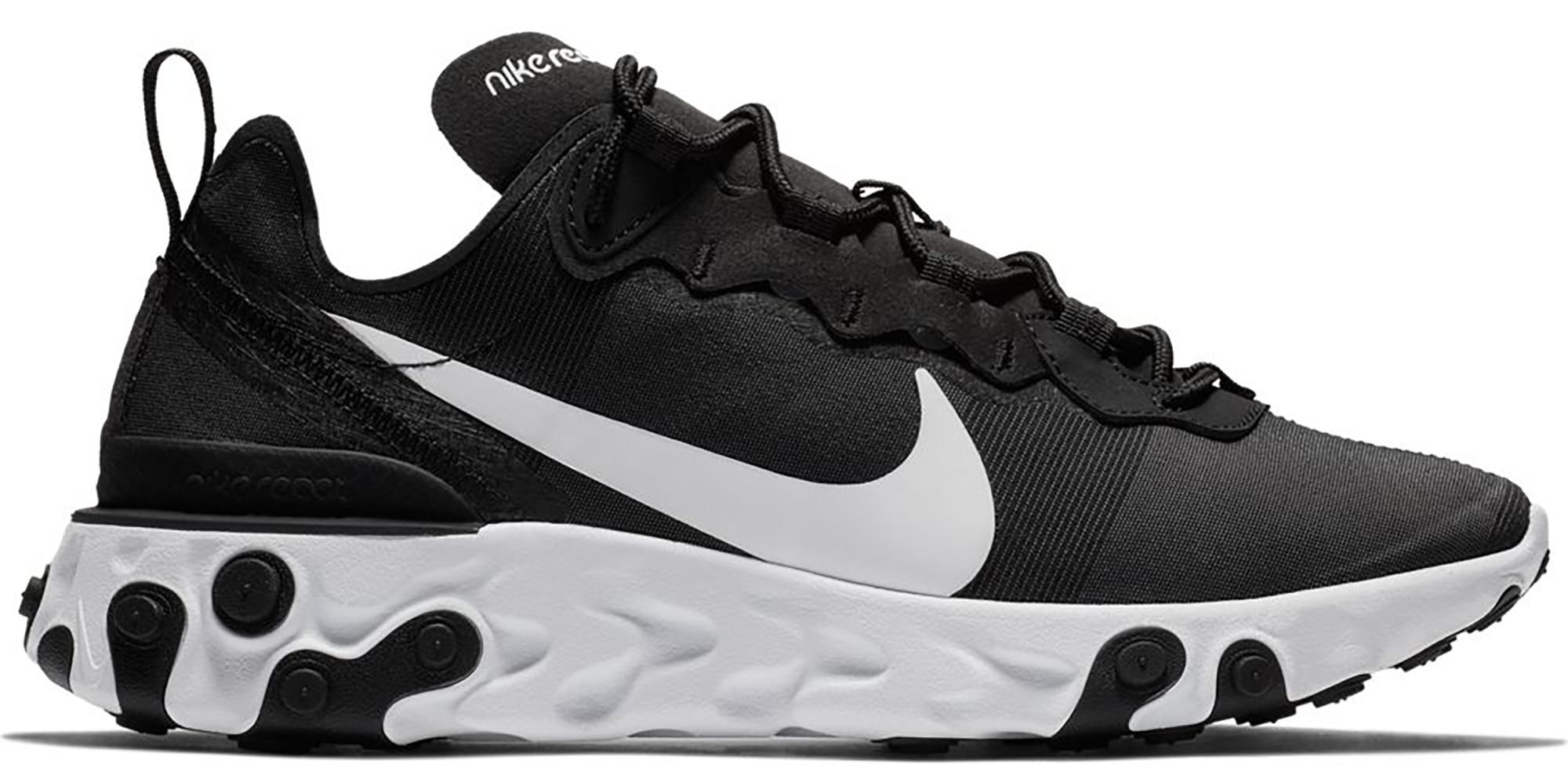 Nike React Element 55 Black White (W