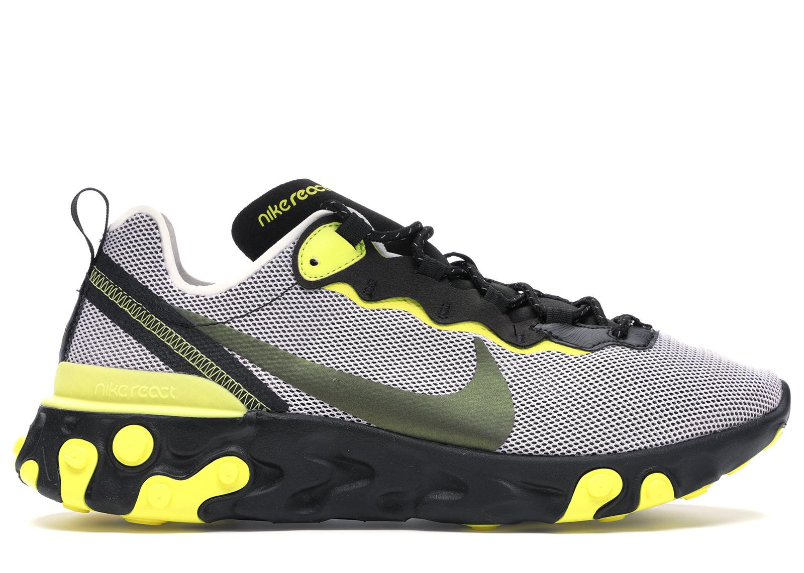 Nike React Element 55 Dynamic Yellow