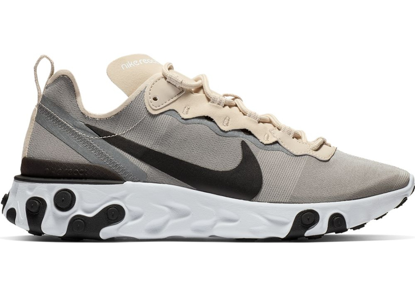 Shoptagr | Nike React Element 55 Light Orewood Brown by Stock X