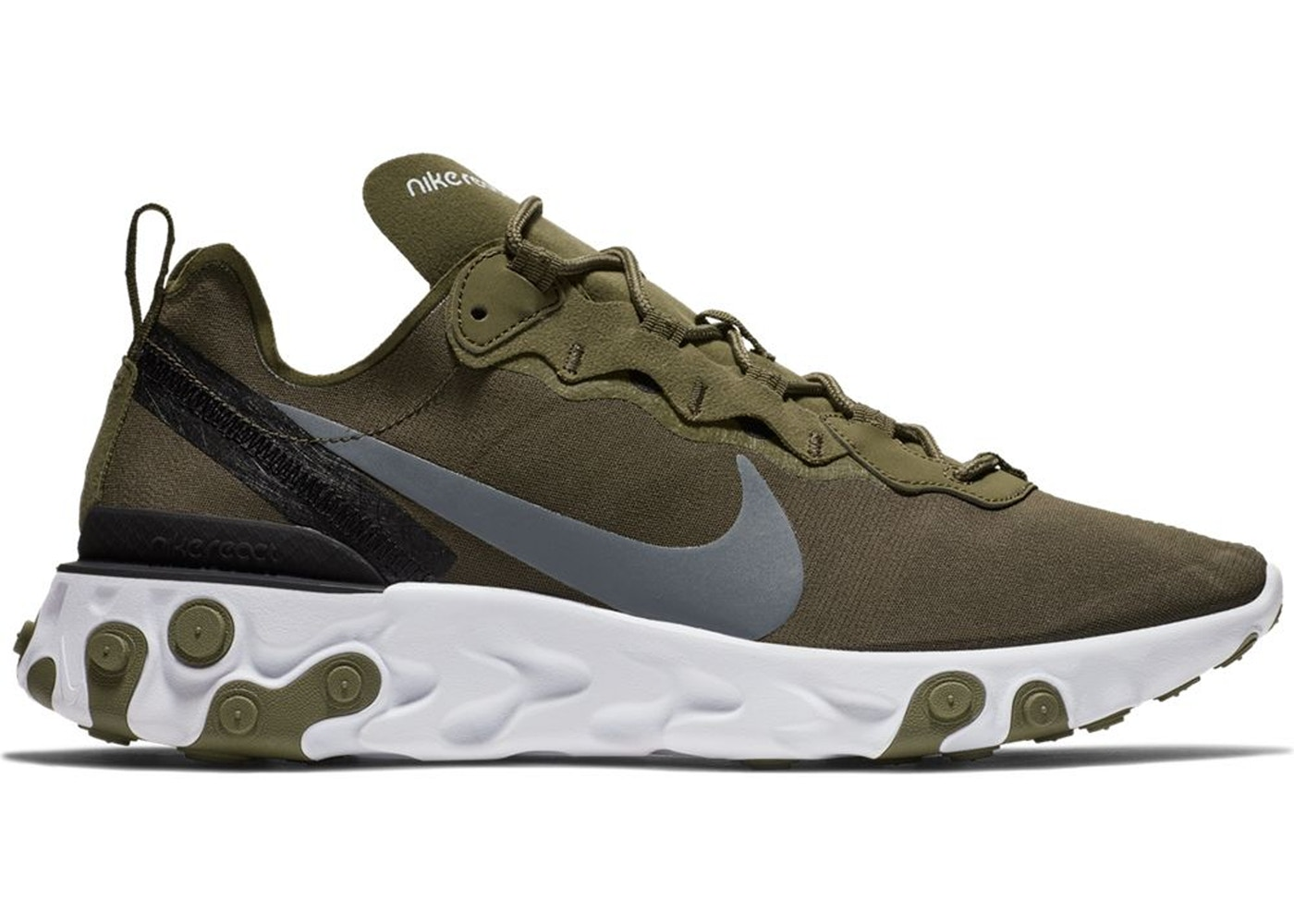 ee05a5ca08 Sell. or Ask. Size: 9.5. View All Bids. Nike React Element 55 Medium Olive