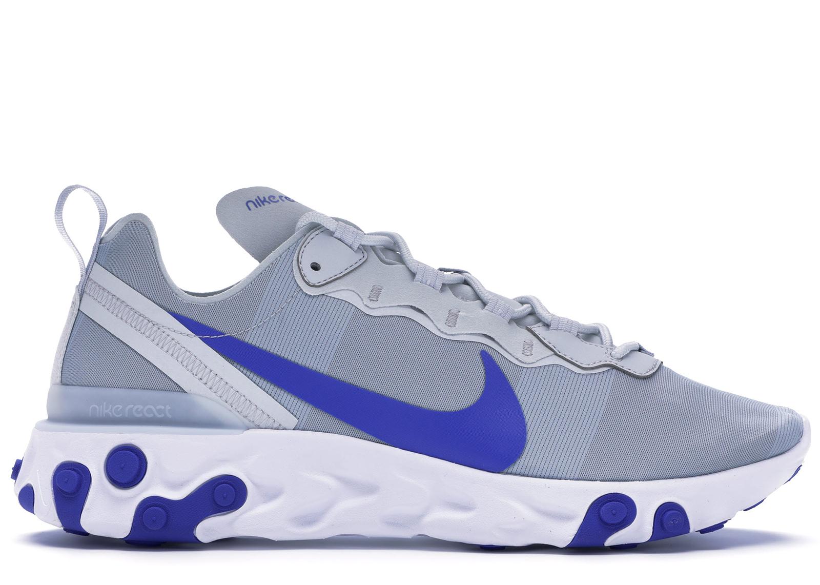 Nike React Element 55 Pure Platinum