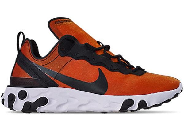 bc4abb9e New Lowest Asks. grid. list. TOP. Nike React Element 55 PRM Sunrise