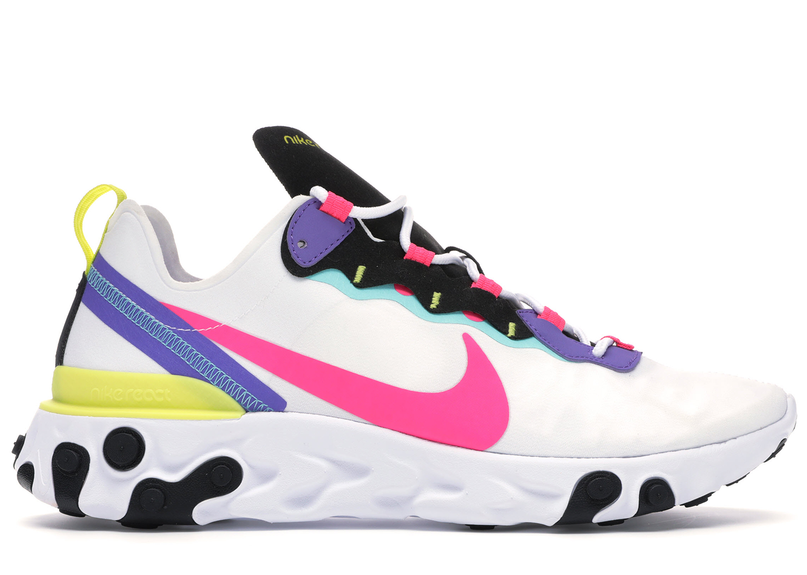 Nike React Element 55 White Psychic