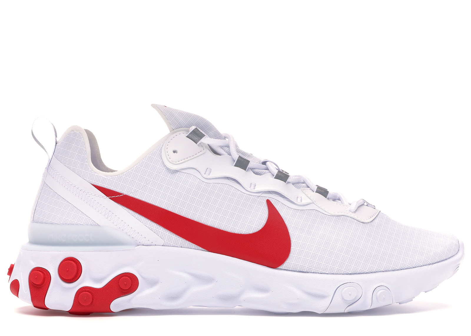 Nike React Element 55 White Red