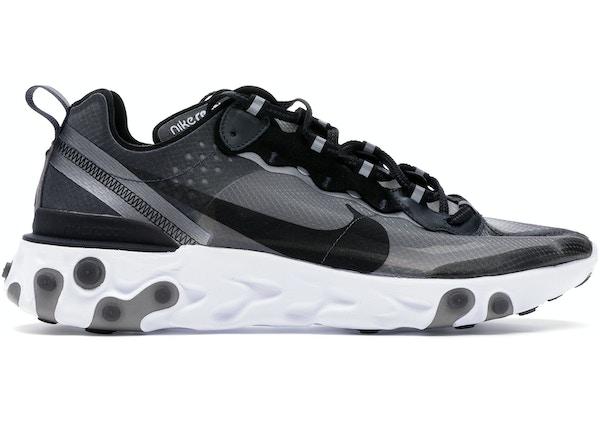 62952393ce3b Nike React Element 87 Anthracite Black