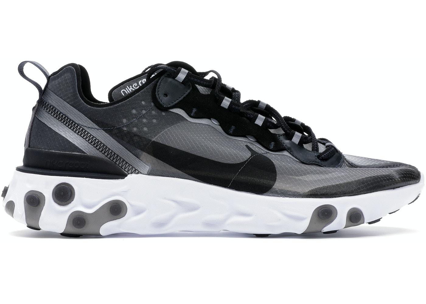 57a9c5ac65b7c Nike React Element 87 Anthracite Black