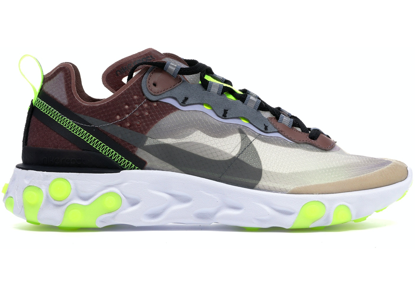 075754e84080 Nike React Element 87 Desert Sand - AQ1090-002
