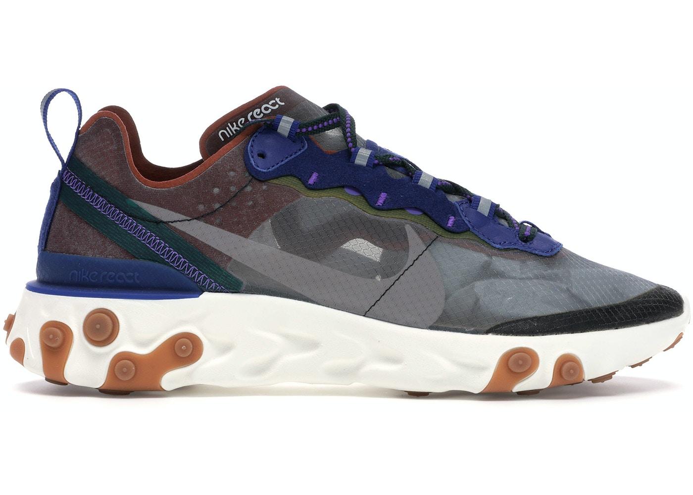hermosa en color diseños atractivos buscar el más nuevo Nike React Element 87 Dusty Peach - AQ1090-200