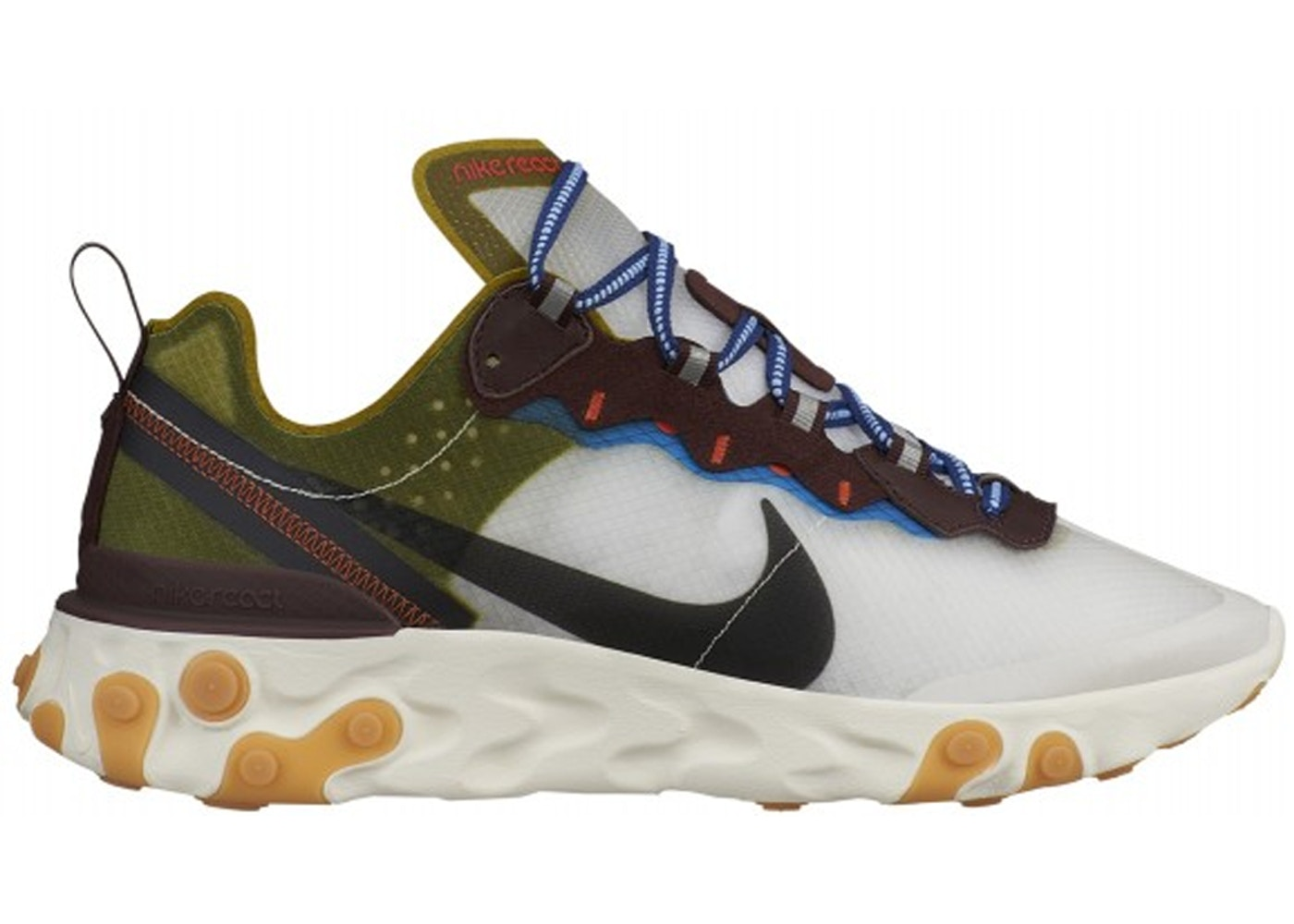 new arrival 47153 d433a Sell. or Ask. Size 6. View All Bids. Nike React Element 87 Moss