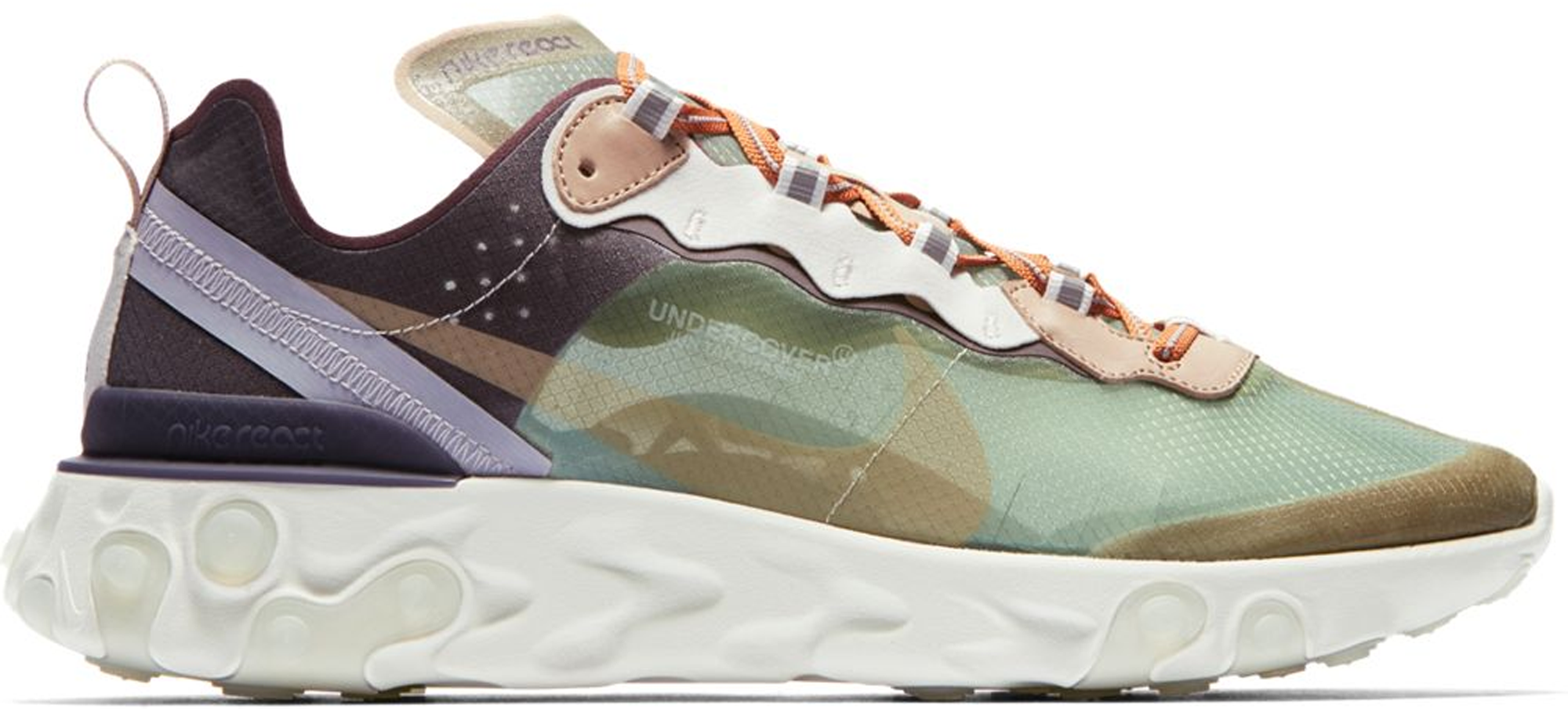 Nike React Element 87 Undercover Green