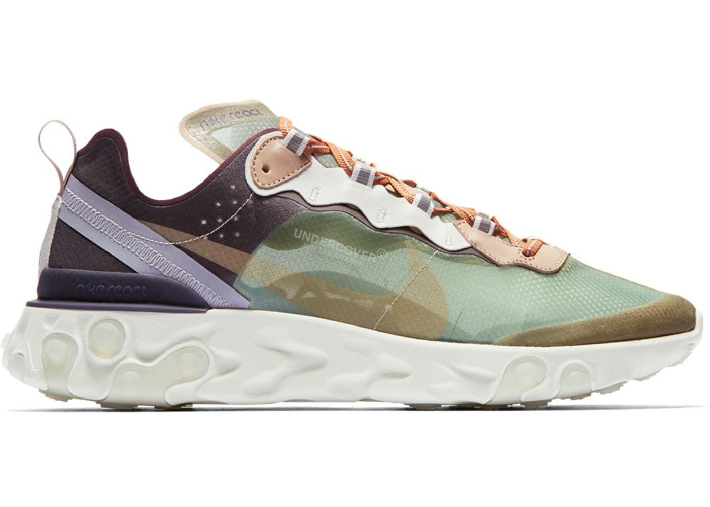 a05639d0e825 Nike React Element 87 Undercover Green Mist - BQ2718-300