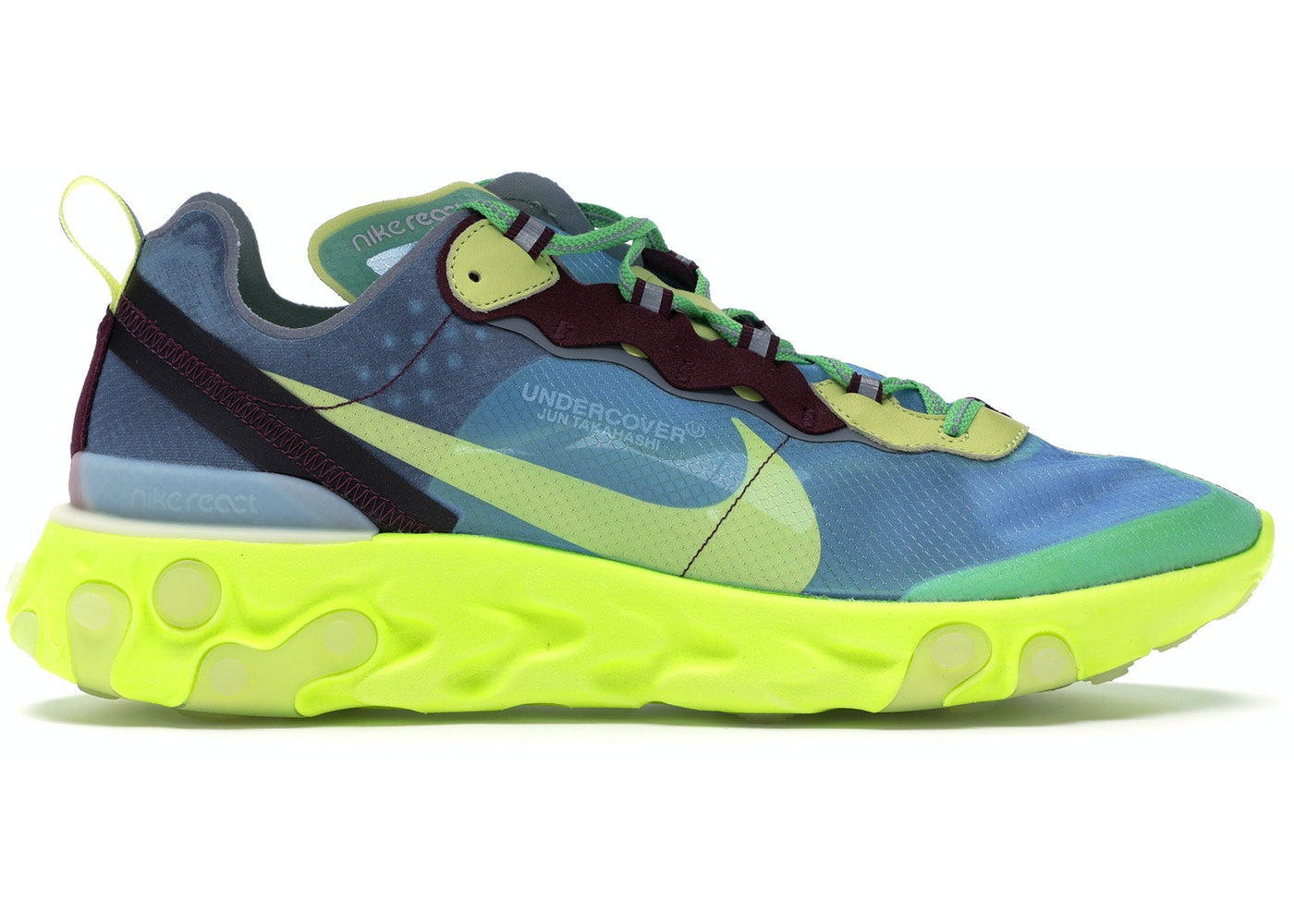 huge discount 26a4e 95657 Nike React Element 87 Undercover Lakeside - BQ2718-400