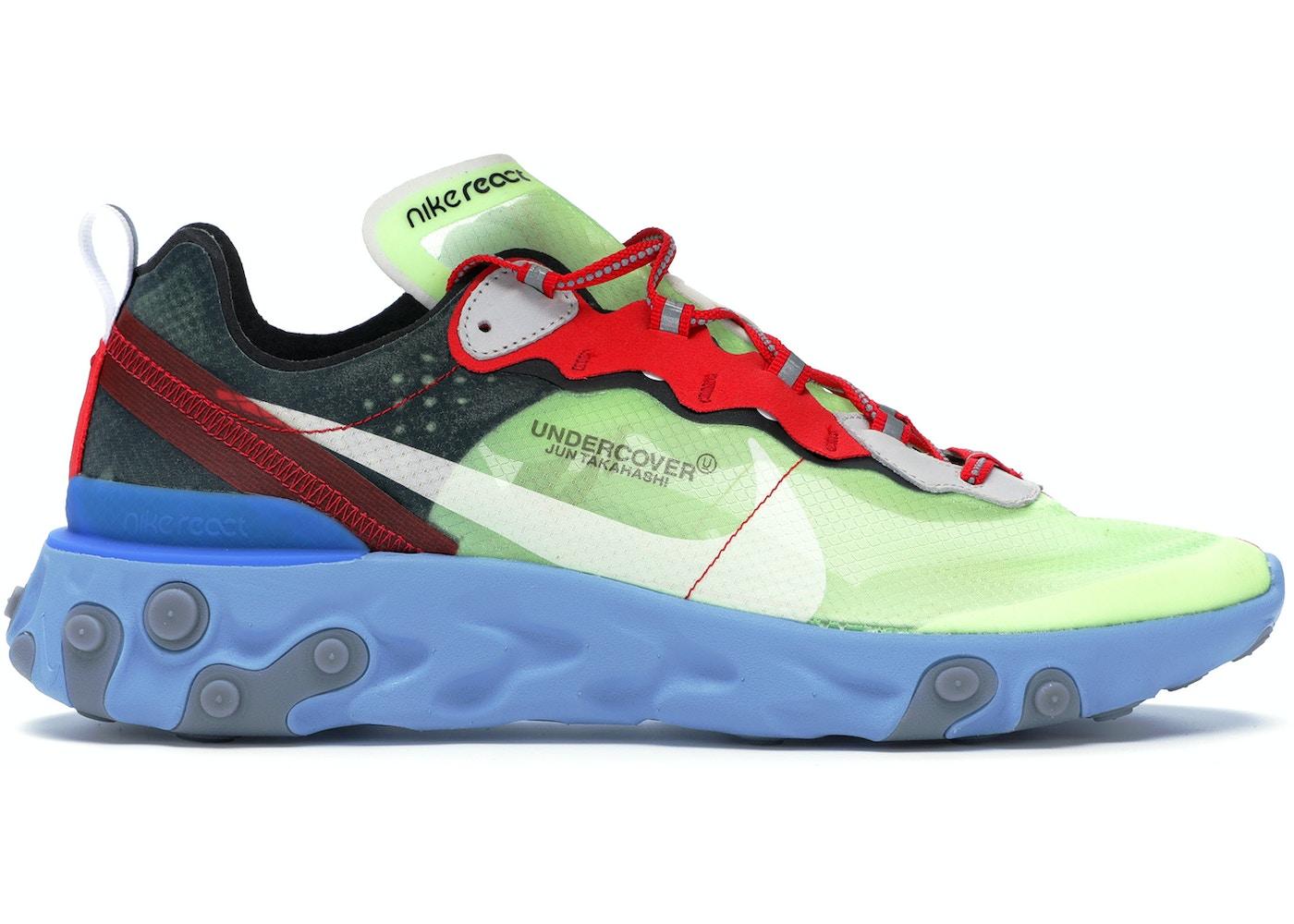 d12de6347d45 Nike React Element 87 Undercover Volt - BQ2718-700