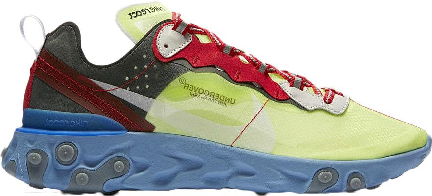 Nike React Element 87 Undercover Volt